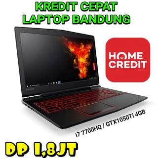 Lenovo Legion Y520 Kredit Laptop Bandung Cimahi All Type Ada Asus ROG Dell Pandora Hp Omen Razer Apple Macbook Gaming Editing !!