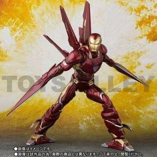 [Preorder] S.H.Figuarts SHF Iron Man Mark 50 L Nano Weapon Set
