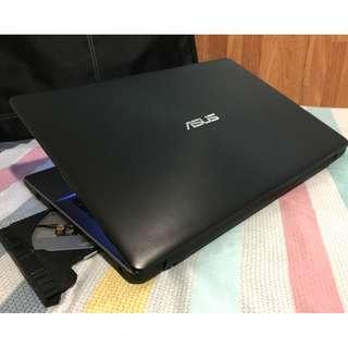 ASUS Heavy gaming 3GB Videocard Dual graphics AMD A10-7th gen laptop