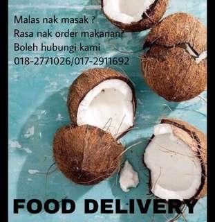 Food delivery rm6-rm8.00 CAJ FOR COD OUTSIDE FROM CHERAS IT WILL BE RM5-RM7