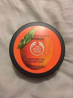 Body Shop body butter