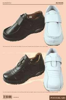 🚚 ✨真皮✨護士鞋 氣墊鞋 學生鞋 工作鞋🇹🇼台灣製造🇹🇼AlR氣墊 按摩厚氣墊👑頭層牛皮 止滑鞋底 久站舒適透氣