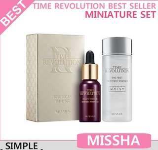 Missha Time Revolution Best Seller Trial Set ##MY1212