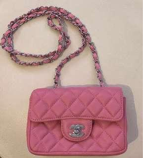CHANEL Caviar Quilted Mini Square Flap Bag