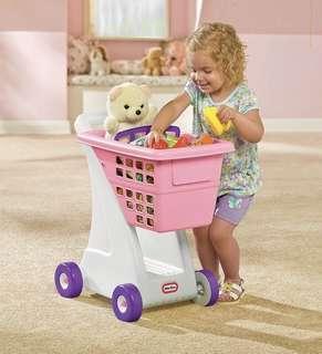 Brand New Little Tikes Shopping Cart - Pink