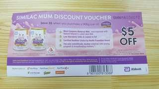 Similac Mum Discount Vouchers (2pcs)