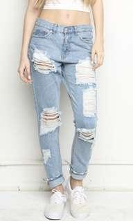 BRANDY MELVILLE bf jeans