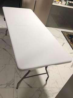 🔥Moving Out Sale🔥Foldable table (light grey)