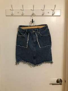 Missguided Denim Skirt