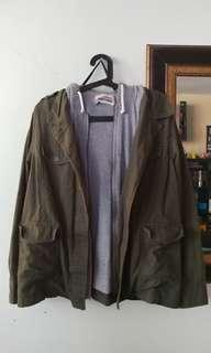 F21 Fall Jacket (Large/Olive)