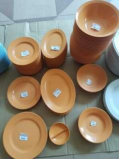 Assorted Melamine plates & bowls-starting at $1
