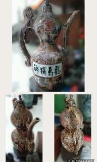 1piece guci hias antik asli china