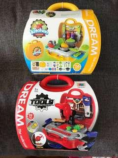 Dream the suitcase 行李箱玩具 play doh vtech fisher price