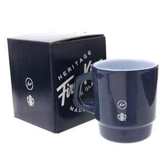 全新 Fragment x Starbucks Navy Fire King Mug Cup 杯
