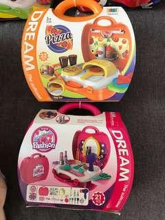 Dream the suitcase 行李箱玩具 vtech fisher price play doh