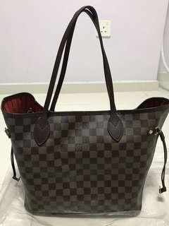 Preloved Louis Vuitton Neverfull MM Authentic 2dc2bebed9749