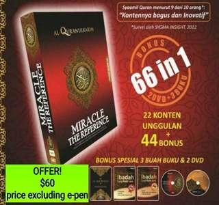 (PO) NEW! Syamil Quran Miracle The Reference66 in 1