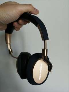 Pristine, rarely used..Bowers & Wilkins PX Bluetooth noise-cancelling headset