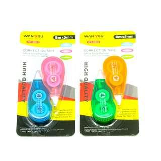 2-pc Correction Tape set