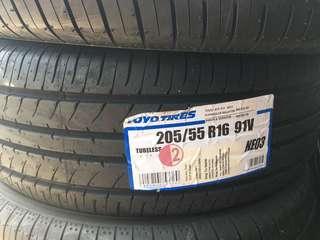 205/55/16 Ne03 Toyo Tyre