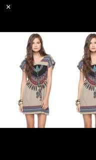 🚚 Forever 21 Knit tribal dress