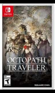 🚚 [BNIB] Octopath Traveler Nintendo Switch