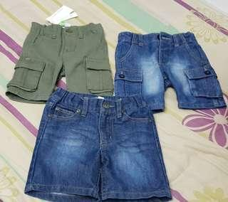 Pumpkin Patch Baby Jeans (1 new 2 used)