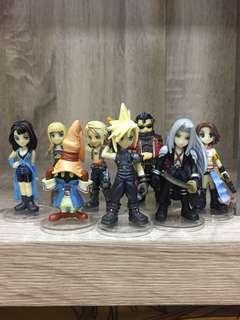 Final fantasy mini trading figures
