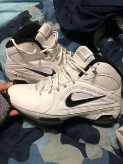 Nike white runners