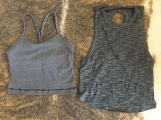 Lululemon sz4 Cropped Top combo deal