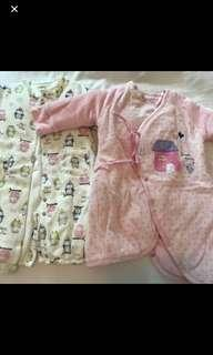Mides baby girls gown 睡袍 0-6months