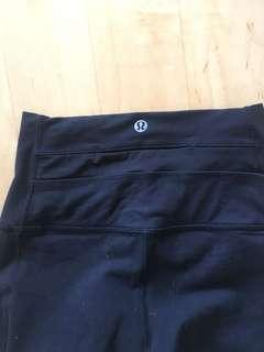 Lululemon mesh leggings Size 4 black