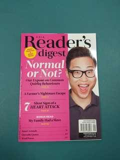 Readers Digest September 2018