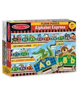 Alphabet Express Floor Puzzle