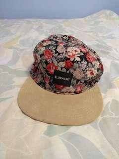 Elephant floral hat