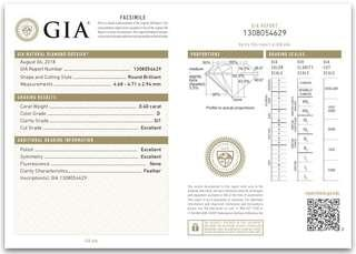 GIA鑽石 0.40ct 圓鑽
