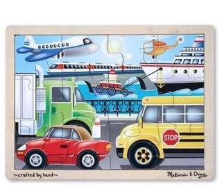 Vehicles Wooden Puzzle