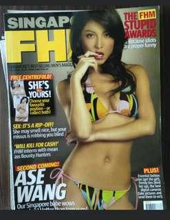 Ase Wang. July 2005. Fhm singapore