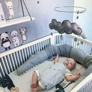 Zakka 雜貨 北歐風兒童床圍 抱枕 裝飾