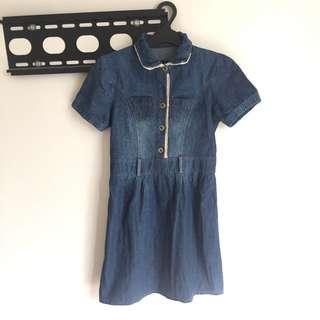BLUE DENIM JEANS DRESS #MauIphoneX
