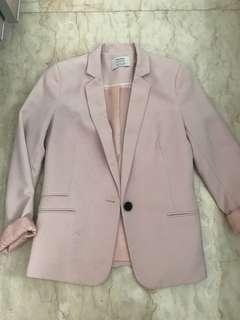 Nett!! No nego !! Berskha pink blazer