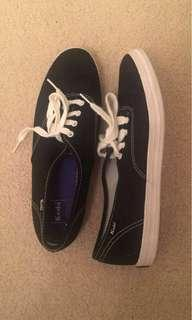 Black Keds size 8