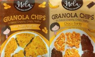 Nola's Granola Chips - a set of 2 flavours [Instock]