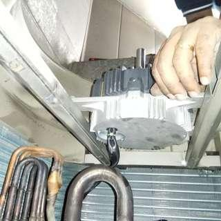 Daikin Aircon Fan Motor Replacement (Aircon Repair Singapore, Commercial Office)
