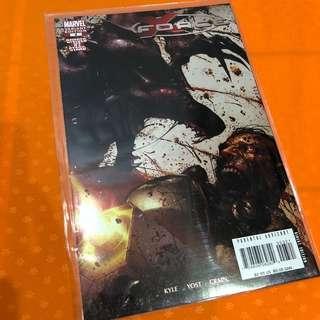 Marvel X-Men X-Force #3 Bloody Variant Comic Clayton Crain