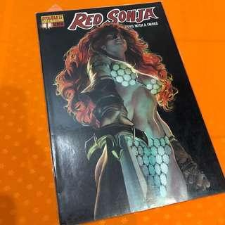 Dynamite Comic Red Sonja #1 Devil With A Sword Alex Ross Variant