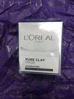 L'OREAL Pure Clay Mask - Hydration 50g