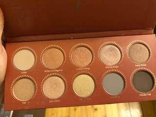 Zoeva rose golden palette
