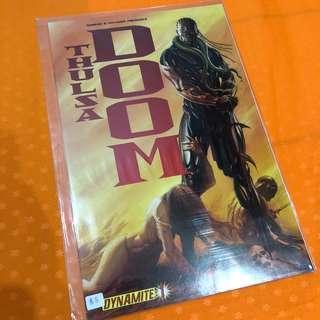 Dynamite Comics Thulsa Doom #1 Alex Ross Cover Djimon Hounsou