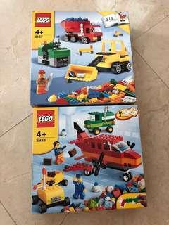 BN Lego 6187 & 5933